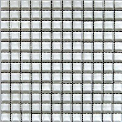 Alpinez Snow Bird-1471 Mosaic Glass 12 in. x 12 in. Mesh Mounted Tile (5 sq. ft. / case)