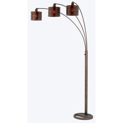 Cooper 82 in. Rust Incandescent Floor Lamp