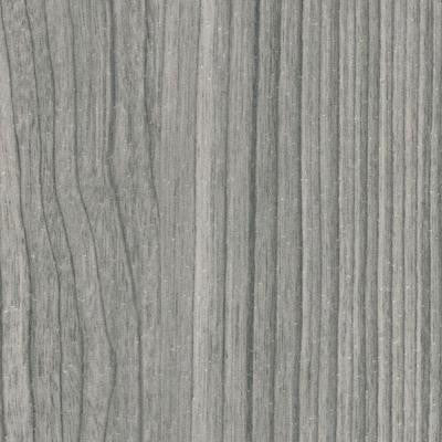Castle Gray Woodgrain Ceiling and Wall Plank - 5 in. x 7.75 in. Take Home Sample
