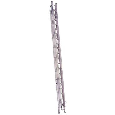 60 ft. Aluminum Round Rung Extension Ladder with 250 lb. Load Capacity Type I Duty Rating