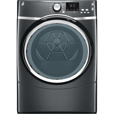 7.5 cu. ft. Gas Dryer with Steam in Diamond Gray