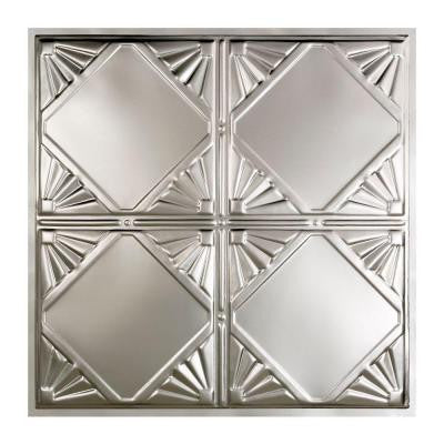 Erie 2 ft. x 2 ft. Lay-in Tin Ceiling Tile in Clear