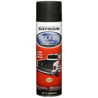 15 oz. Truck Bed Coating Black Spray Paint (6-Pack)