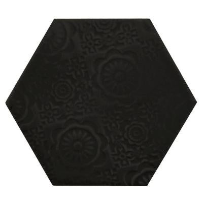 Caprice Notte 4 in. x 5 in. Porcelain Wall Tile