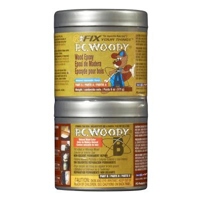 6-oz. PC-Woody Wood Epoxy Paste