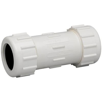 1/2 in. PVC Compression Coupling