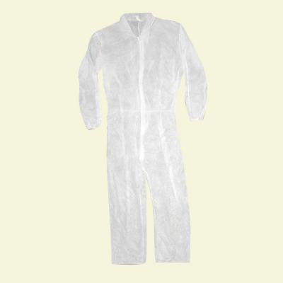 2-XL Polypropylene Coverall with Elastic Back and Wrists