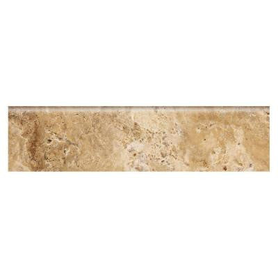 Travisano Navona 3 in. x 12 in. Porcelain Bullnose Trim Floor and Wall Tile