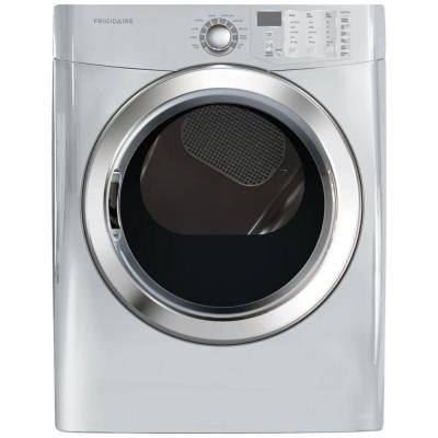 7.0 cu. ft. Gas Dryer with Steam in Classic Silver