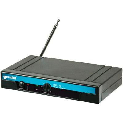 Single-Channel Wireless Microphone System with Headset Microphone and Belt Pack Transmitter