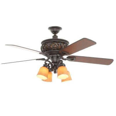 Ponte Vecchio 54 in. Natural Iron Ceiling Fan