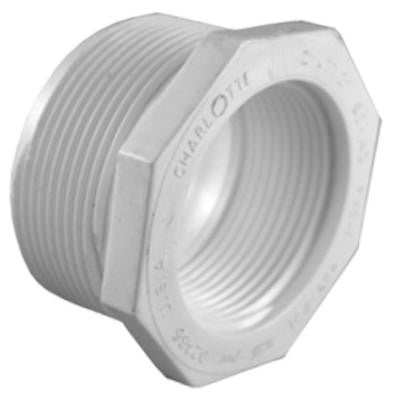 1 in. x 3/4 in. PVC Sch. 40 Reducer Bushing