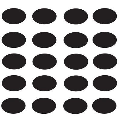 Chalkboard Labels Oval (20 per Pack)