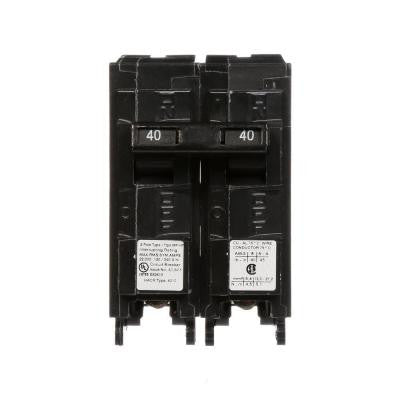 40 Amp Double-Pole Type MP 22 kA Plug-In Circuit Breaker