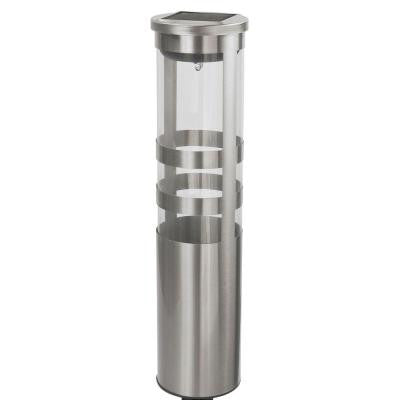 2-Light Stainless Steel Bollard Path Lighting