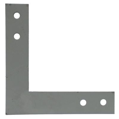 12 in. x 12 in. 7-Gauge Hot-Dip Galvanized Heavy L Strap