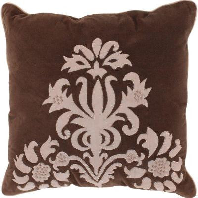 ElegantB4 18 in. x 18 in. Decorative Down Pillow