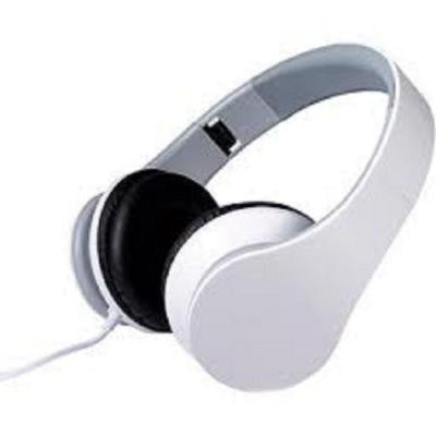 Foldable Stereo Headphones - White