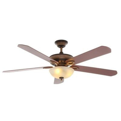 Asbury 60 in. Indoor Gilded Espresso Ceiling Fan