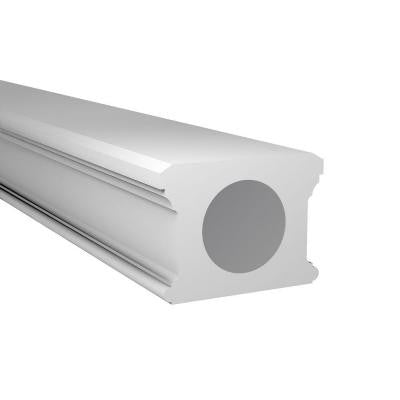 96 in. x 4 in. Polyurethane Classic Balustrade Bottom Rail