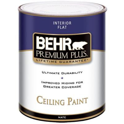 1-Qt. Flat Interior Ceiling Paint