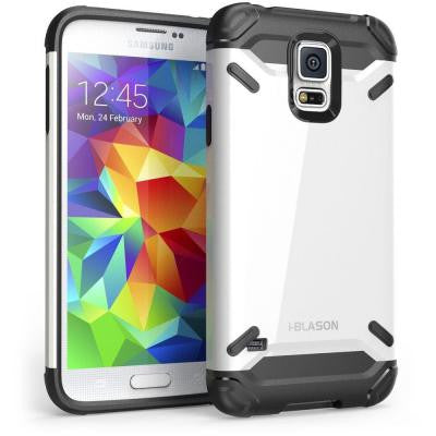 Armadillo Series Hybrid Case for Galaxy S5 - White