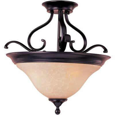 Linda EE 3-Light Semi-Flush Mount