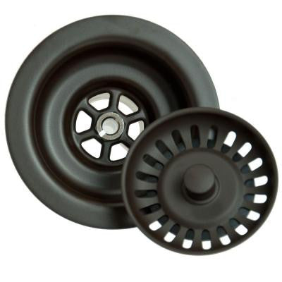 4.5 in. Kitchen Strainer in Oil Rubbed Bronze