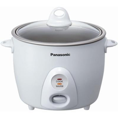 5.5-Cup Rice Cooker with Glass Lid