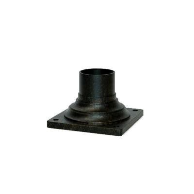 Black Gold Outdoor Pier Mount