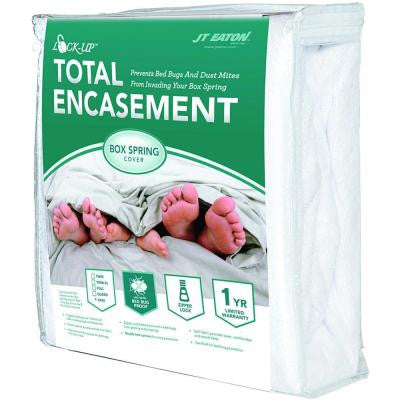 Lock-Up Total Encasement Bed Bug Protection for Extra Large Twin Box Spring