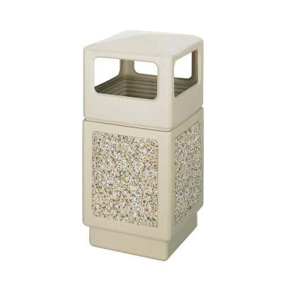 38 Gal. Indoor/Outdoor Waste Receptacle