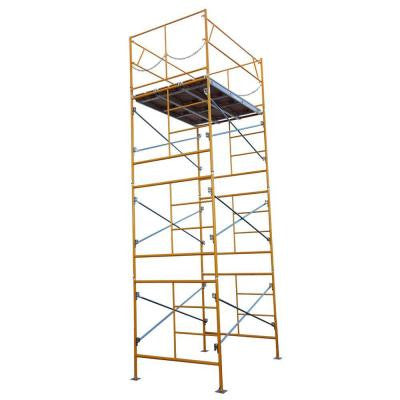 15 ft. x 7 ft. x 5 ft. Stationary Scaffold Tower 2475 lb. Load Capacity