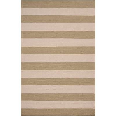 Camellia Sage Green 9 ft. x 12 ft. Area Rug
