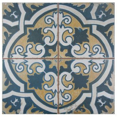 Kings Canarsie 17-3/4 in. x 17-3/4 in. Ceramic Floor and Wall Tile (11.3 sq. ft. / case)