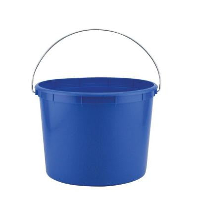 2.5-Qt. Blue Plastic Pail (Pack of 3)