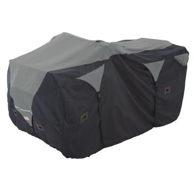 Large ATV Deluxe Storage Cover in Black/Grey