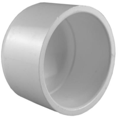 1/2 in. PVC Sch. 40 Socket Cap