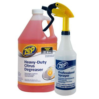 128 oz. Heavy Duty Citrus Gallon with Sprayer Value Pack