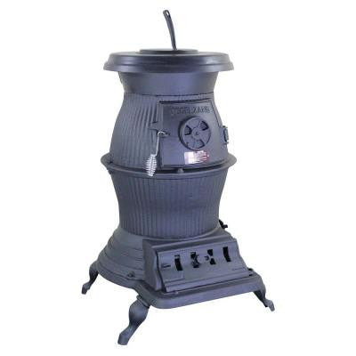 Railroad 1,500 sq. ft. Coal / Wood-Burning Pot Belly Stove