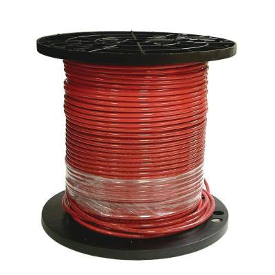 500 ft. 8 Stranded THHN Red Cable