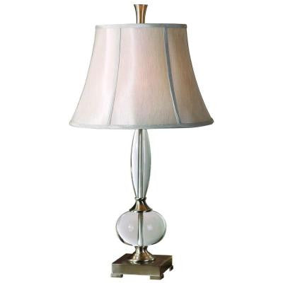 30.5 in. Crystal Table Lamp