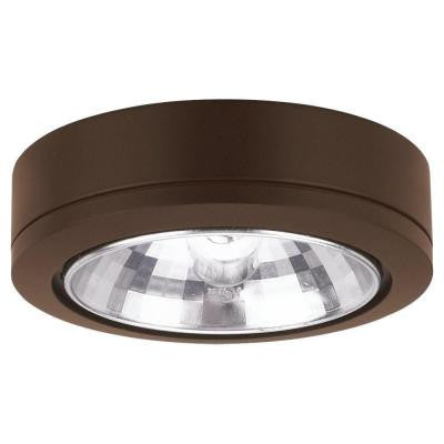 Ambiance 24° Beam Painted Antique Bronze Xenon Accent Disk Light