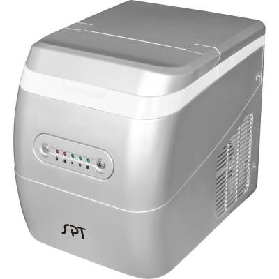 26 lb. Portable Ice Maker in Silver