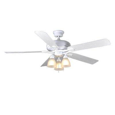 Trentino II 60 in. White Indoor/Outdoor Ceiling Fan