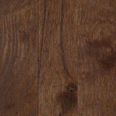 Franklin Coffee Bean Hickory 3/4 in. Thick x 3-1/4 in. Wide x Varying Length Solid Hardwood Flooring (17.6 sq. ft./case)