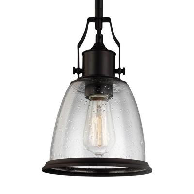 Hobson 1-Light Oil Rubbed Bronze Mini Pendant