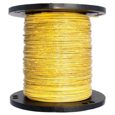 2500 ft. 14/1 Solid THHN Wire - Yellow