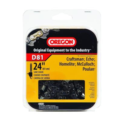 D81 24 in. Chainsaw Chain
