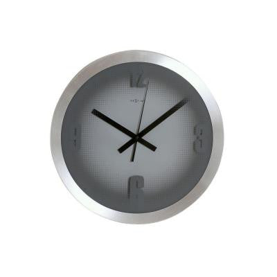 13.78 in. Aluminum Wall Clock